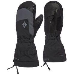 Black diamond mercury mittens, czarny xl   9,5-10 2021 rękawiczki z jednym palcem