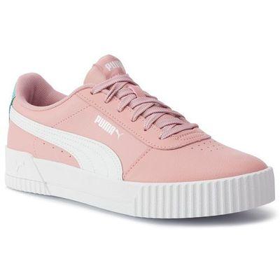 Puma Sneakersy carina l jr 370677 03 bridal rosepuma white