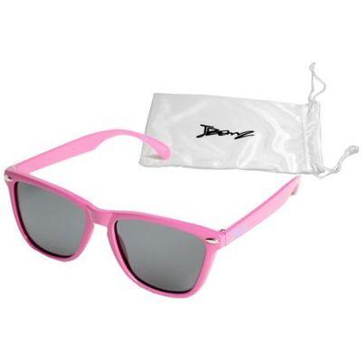 Okulary przeciwsłoneczne dzieci 4 10lat UV400 BANZ Flyer Pink (9330696015578)