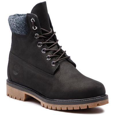 940fdb969e687 Trapery TIMBERLAND - Premium 6 In Waterproof Boot TB0A1UEJ0011 Black  Nubuck