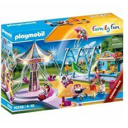 Playmobil zestaw figurek family fun 70558 duży park rozrywki 70558