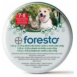 Bayer foresto obroża dla psów i kotów poniżej 8kg dł. 38 cm (5909990908479)