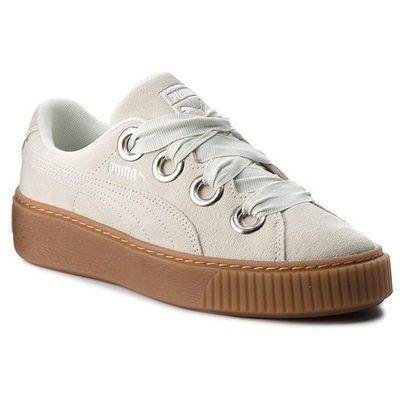 Sneakersy PUMA Platform Kiss Suede Wn's 366461 02 Blue FlowerPuma Silver, w 9 rozmiarach