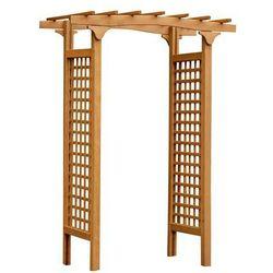 Werth-holz Pergola ogrodowa 150 x 100 x 218 cm drewniana malva (5902860160557)