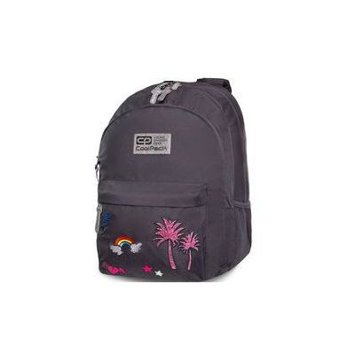 439690aa4bc75 Patio Plecak coolpack hippie - sparkling badges grey (5907620122479)
