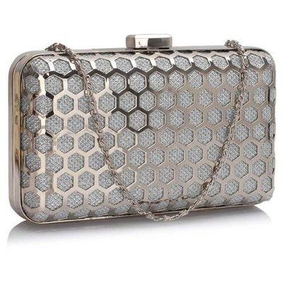 b33ef5f5c3008 Wielka brytania Srebrna szkatułka torebka wizytowa - srebrny