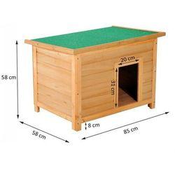 Buda klatka dla psa 85x58x58cm marki Aosom