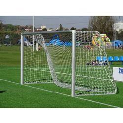 Profesjonalna bramka piłkarska ALUMINIUM 3 m x 2 m rury 120 mm + SIATKA, 22983269
