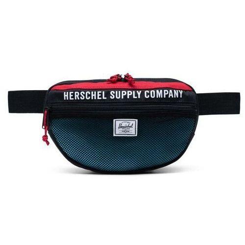 nerka HERSCHEL - Herschel Supply Athletics Nineteen Black/Red/Bachelor Button (03101)