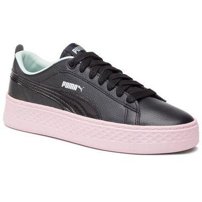 Puma Sneakersy smash platform trailblazer 369133 01 puma blackfair aquapale pink