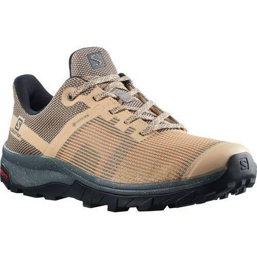 Salomon OUTline PRISM GTX Shoes Women, beżowy/szary UK 6 | EU 39 1/3 2021 Buty turystyczne (0193128546519)