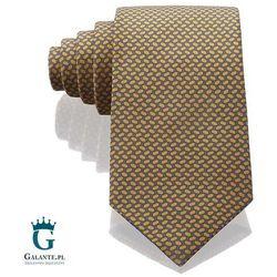 Złot włoski krawat jedwabny Arcuri 14801/16, 14801/16