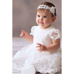 Sukienka niemowlęca do chrztu 6k40cd marki Balumi