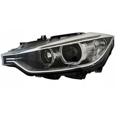 Depo Reflektory Lampy Przednie Bmw F30 F31 Angel Eyes Led Black