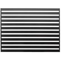 Przęsło Polbram Steel Group Lara 2 145 x 200 cm czarne (5900652458301)