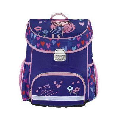 1fb1a3dc702a3 Hama tornister   plecak szkolny dla dzieci   Pretty Girl - Pretty Girl  (4047443347473)
