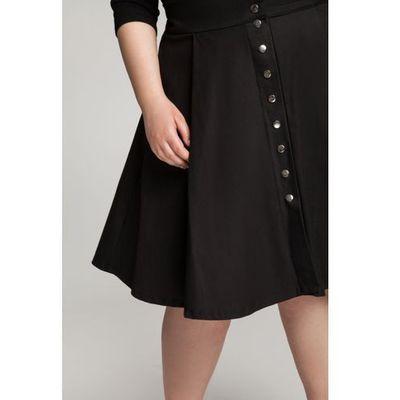 e1b5514656a5c0 Sonja black rozkloszowana spódnica z kieszeniami, By 20inlove