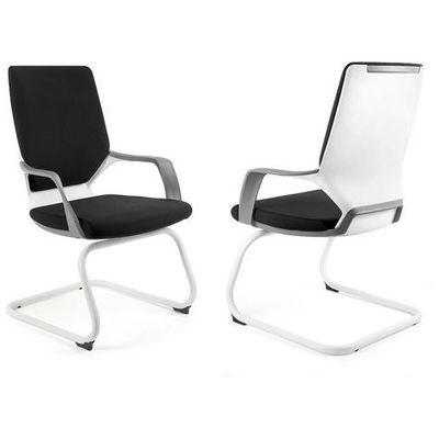Fotel Unique APOLLO SKID, biało czarny 18 KOLORÓW, NEGOCJUJ CENĘ