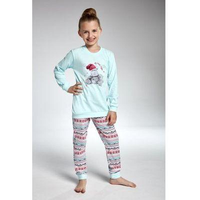 76a2ef3dcd114f Cornette 594/95 hippo turkus piżama dziewczęca (5902458100095)