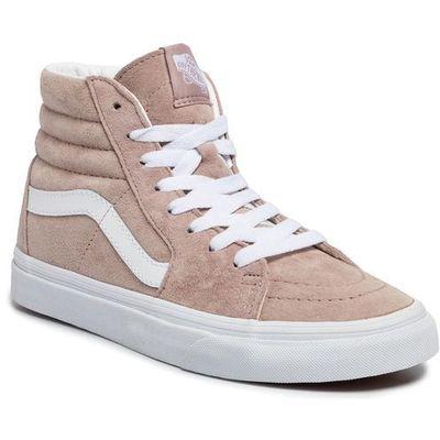 Sneakersy sk8 hi vn0a4bv6v791 (pig suede)shdw grytrwht marki Vans