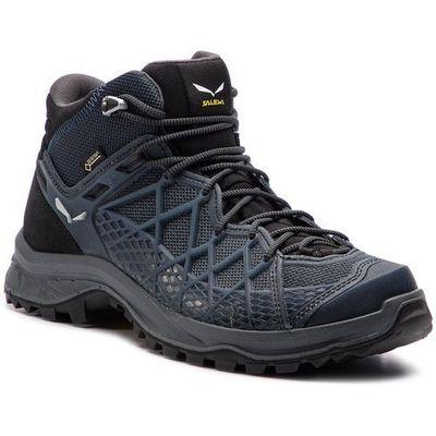Salewa Trekkingi wild hiker mid gtx gore tex 61340 0982 black outsilver