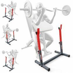K-sport Stojak treningowy do ćwiczeń pod ławkę sztangę gryf modlitewnik ksh016