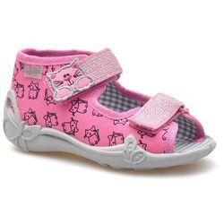 Kapcie dziecięce Befado 242P103 Różowe, kolor różowy