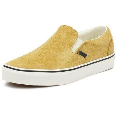 Nowe buty slip on hairy suede sunflowersnow white rozmiar 4227cm marki Vans