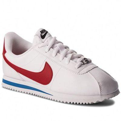 Buty cortez basic sl (gs) 904764 103 whitevarsity red marki Nike