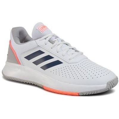 Buty courtsmash eg4375 ftwwhttecindsigcor, Adidas, 42 46