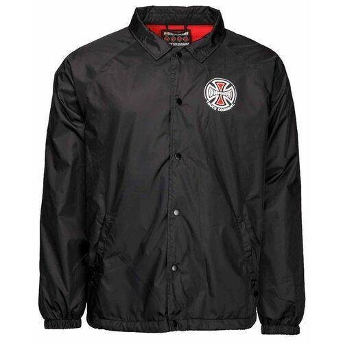 Kurtka - truck co coach jacket black (black) marki Independent