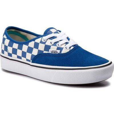 Buty authentic comfycush checker lapis bluetrue white rozmiar 4227cm, Vans
