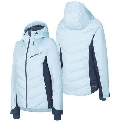 Damska kurtka narciarska h4z19 kudn005 niebieski 34s xl marki 4f