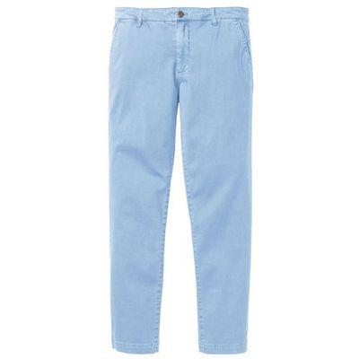 Spodnie chino Regular Fit bonprix pudrowy niebieski, kolor fioletowy