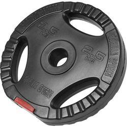 2,5 kg obciążenie bitumiczne z uchwytami na sztangę 30 mm (4260200842428)