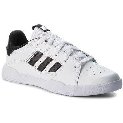 Buty adidas Vrx Low J B43778 FtwwhtCblackFtwwht, kolor biały