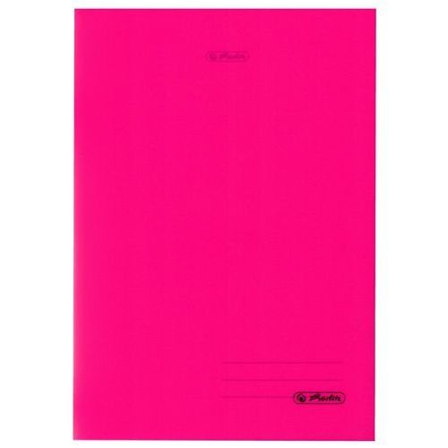 caf3abdc Zeszyt b5 60k kratkę okładka folii pp - różowy marki Herlitz promocja 2019