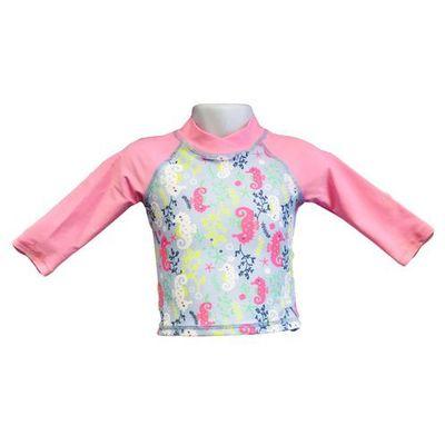 Banz Bluzka kąpielowa koszulka dzieci 108cm filtr uv50+ sea horse  108cm (9330696051507)