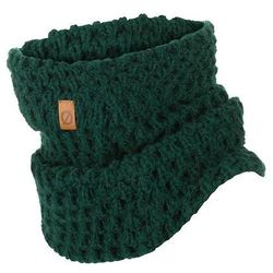 Modny komin damski na zimę k6 9947-green, kolor zielony