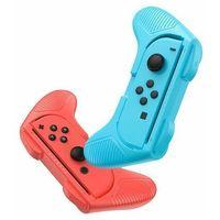 Uchwyty do telefonów, Baseus SW Small Handle | 2x Uchwyt na pad Joy Con do Nintendo Switch | czerwony / niebieski - Czerwony / Niebieski