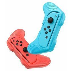 Baseus SW Small Handle   2x Uchwyt na pad Joy Con do Nintendo Switch   czerwony / niebieski - Czerwony / Niebieski