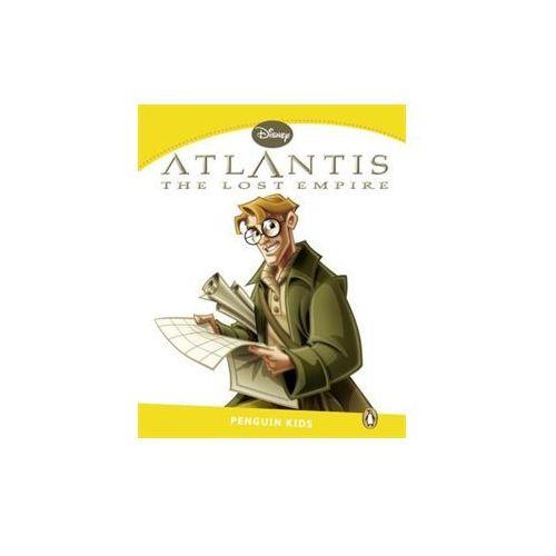 Książki do nauki języka, Atlantis the lost empire level 6 (opr. miękka)