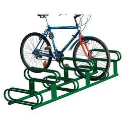 Stojak rowerowy dwupoziomowy - 6 stanowisk, powierzchnia ocynkowana ogniowo