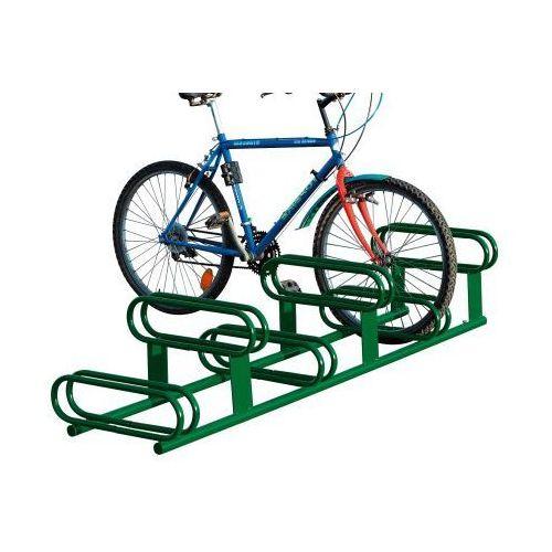 Pozostała odzież robocza i BHP, Stojak rowerowy dwupoziomowy - 6 stanowisk, powierzchnia ocynkowana ogniowo