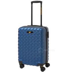 Caterpillar Industrial Plate walizka mała kabinowa 54 cm CAT / niebieska - Sea Blue
