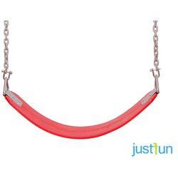 Huśtawka elastyczna na łańcuchu - czerwony