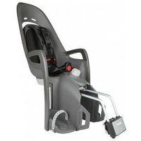 Foteliki rowerowe, Fotelik rowerowy dla dziecka HAMAX Zenith Relax do ramy szaro-czarny