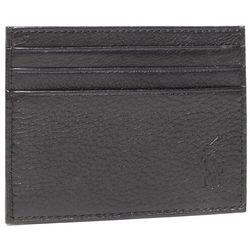 Etui na karty kredytowe POLO RALPH LAUREN - Ongoing 405526231005 Pebble Leather Black