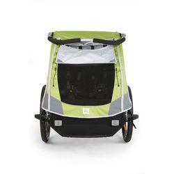 Przyczepka rowerowa dla dzieci Burley D'Lite:: 30 dni na zwrot lub wymianę:: Gwarancja Zadowolenia - zielony burley (-15%)