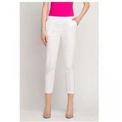 Spodnie Kosmetyczne Vena Cygaretki Białe